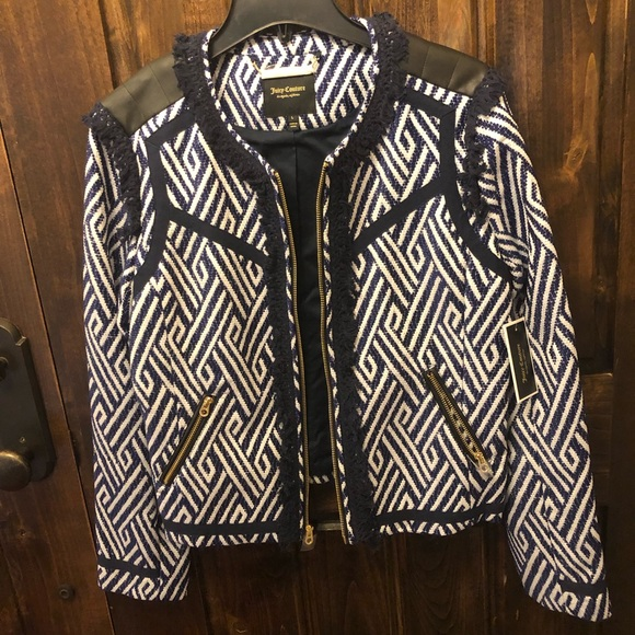 Juicy Couture Jackets & Blazers - Juicy Couture black label jacket